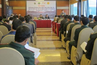Deployment plan '' Actions to strengthen the enforcement of forest protection, wildlife area, Phong Nha - Ke Bang province